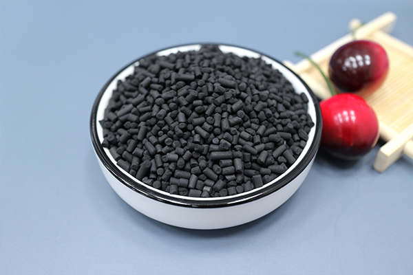 柱状活性炭再生
