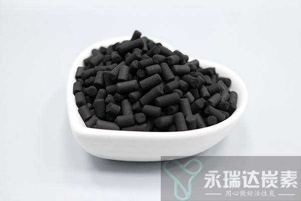 煤质柱状活性炭再生