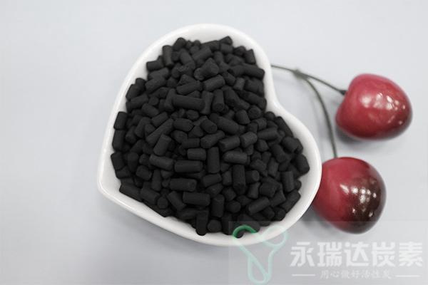 煤质柱状活性炭的物理指标